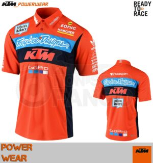 Camicia KTM Power Wear 18 TLD Team Pit Shirt