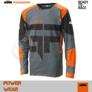Maglia enduro KTM Power Wear 2016 Gravity-FX Shirt Black