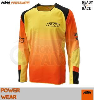 Maglia enduro KTM Power Wear 2015 Gravity-FX Shirt Orange