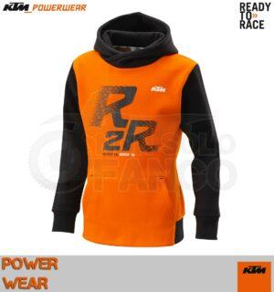Felpa Bambino KTM Power Wear 18 Kids R2R Hoodie