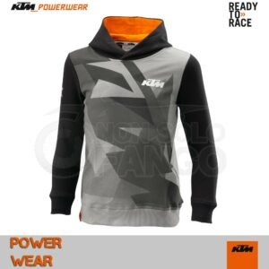 Felpa Bambino KTM Power Wear 18 Kids Gravity Hoodie