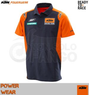 T-shirt KTM Power Wear 2018 Replica Team Polo