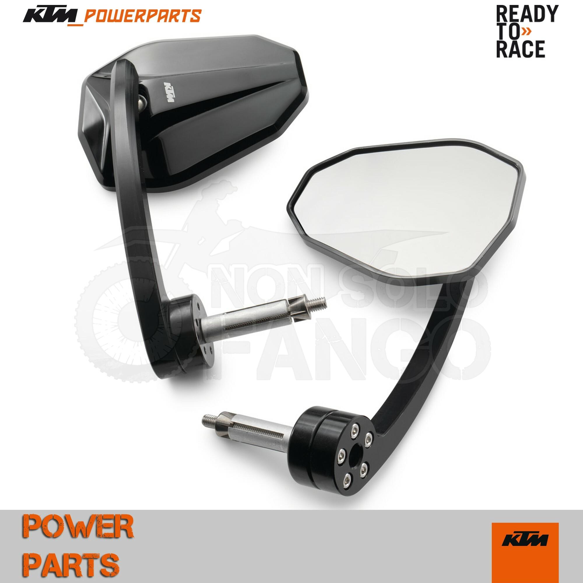V47 K-TM 1290 790 Duke Set di specchietti per manubrio Super Duke R 390 Duke
