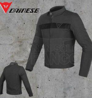 Giubbotto Dainese Stripes Tex Jacket Nero/Nero
