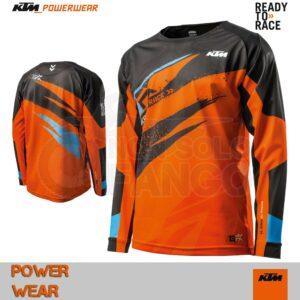 Maglia enduro KTM Power Wear 2019 Gravity FX Shirt Orange