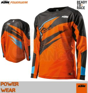Maglia enduro KTM Power Wear 2019 Gravity FX Shirt Orange