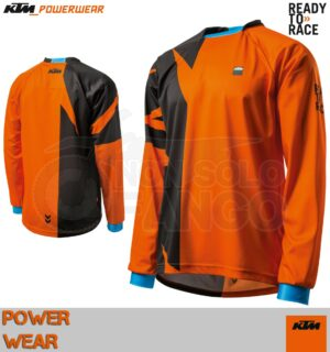 Maglia enduro KTM Power Wear 2019 Pounce Shirt Orange