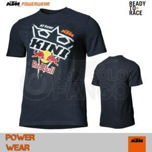 T-Shirt KTM Power Wear 2019 Square Tee Dark Blue