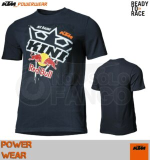 T-Shirt KTM Power Wear 2019 Square Tee Dark Blue