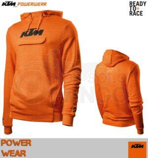 Felpa KTM Power Wear 19 Pure Hoodie Orange