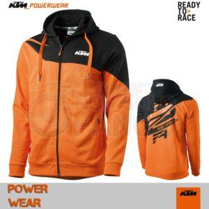 Felpa KTM Power Wear 2019 Radical Zip Hoodie
