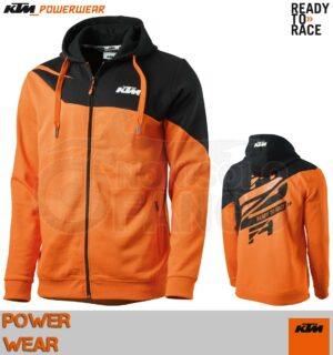Felpa KTM Power Wear 2019 Radical Zip Hoodie