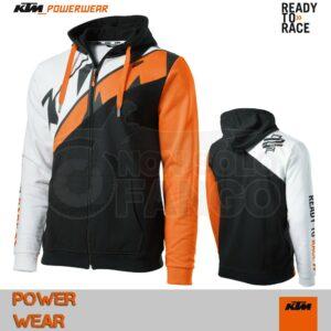 Felpa KTM Power Wear 2019 Radical Sliced Zip Hoodie