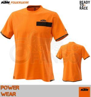 T-Shirt KTM Power Wear 2020 Pure Tee Orange