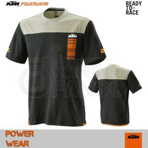 T-Shirt KTM Power Wear 2020 Pure Style Tee Black