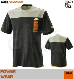 T-Shirt KTM Power Wear 2020 Pure Style Tee Black