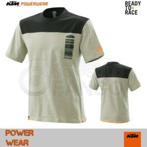 T-Shirt KTM Power Wear 2020 Pure Style Tee Grey
