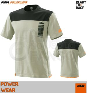 T-Shirt KTM Power Wear 2020 Pure Style Tee Grey
