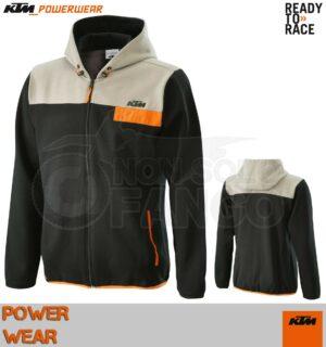 Felpa KTM Power Wear 2020 Pure Zip Hoodie