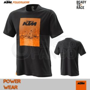 T-Shirt KTM Power Wear 2020 Radical Tee Black