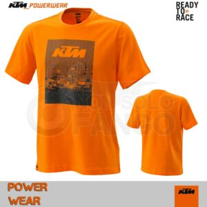 T-Shirt KTM Power Wear 2020 Radical Tee Orange