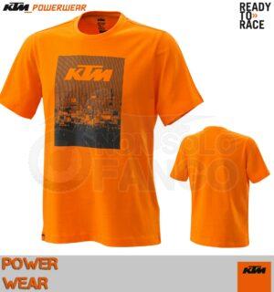 T-Shirt KTM Power Wear 2020 Radical Tee Orange