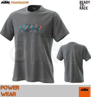 T-Shirt KTM Power Wear 2020 Radical Logo Tee Grey