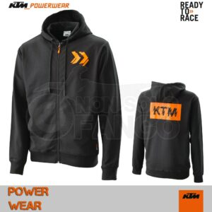Felpa KTM Power Wear 2020 Radical Zip Hoodie