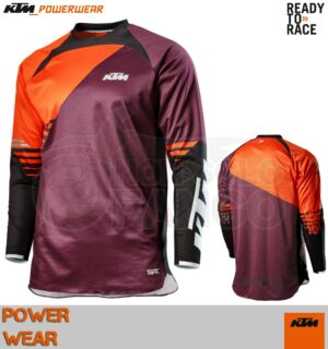 Maglia enduro KTM Power Wear 2020 Gravity-FX Shirt Burgundy