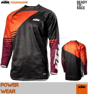Maglia enduro KTM Power Wear 2020 Gravity-FX Shirt Black