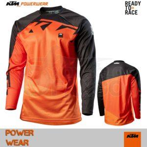 Maglia enduro KTM Power Wear 2020 Pounce Shirt Orange