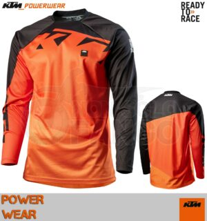 Maglia enduro KTM Power Wear 2020 Pounce Shirt Orange