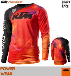 Maglia enduro KTM Power Wear 2020 SE Slash Shirt Orange