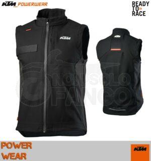 Smanicato in Softshell KTM Power Wear 2020 Enduro Vest
