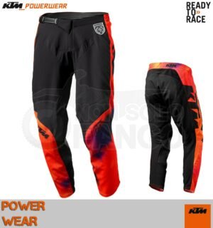 Pantaloni enduro KTM Power Wear 2020 SE Slash Pants Black