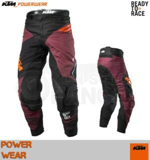 Pantaloni enduro KTM Power Wear 2020 Gravity-FX Pants Burgundy