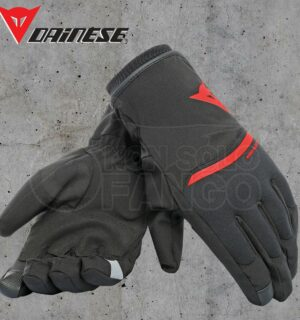 Guanti moto Dainese Plaza 2 Unisex D-Dry Black/Red