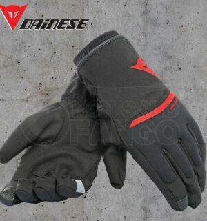 Guanti moto Dainese Plaza 2 Unisex D-Dry Black/Red