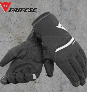 Guanti moto Dainese Plaza 2 Unisex D-Dry Black/White