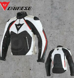 Giubbotto Dainese Hawker D-dry Black/White/Red