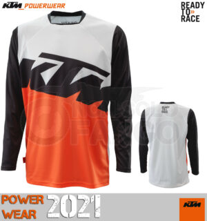 Maglia enduro KTM Power Wear 2021 Pounce Shirt Black